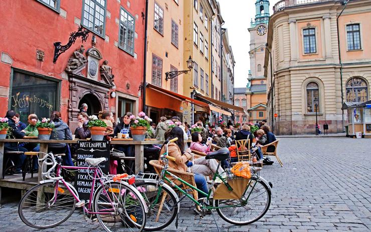 שטוקהולם, שבדיה. מקום רביעי