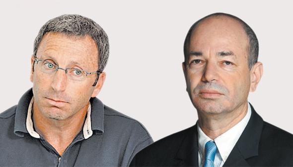 מימין: חיים שני ומשה ליכטמן מקרן ההון־סיכון IGP. ירשמו אקזיט מרשים