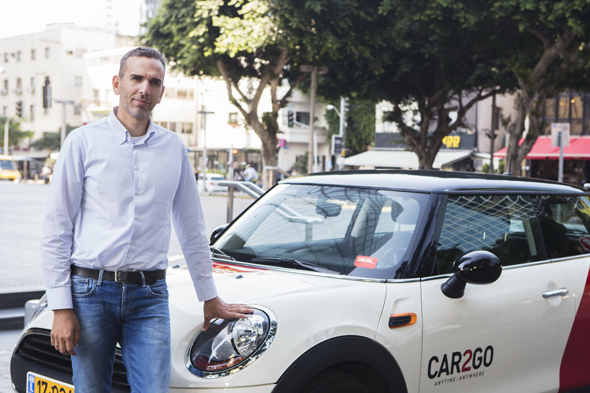 """גיל לייזר, מנכ""""ל Car2Go"""
