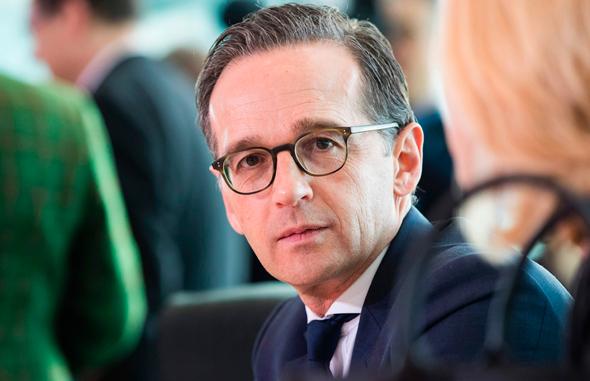 שר החוץ הגרמני הייקו מאס, צילום: איי אף פי