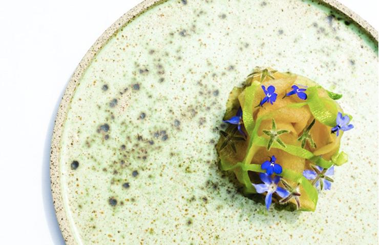 מנה מהמסעדה סנטרל לימה מפרו, צילום: Cesar del Rio