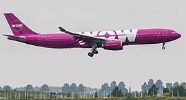 מטוס של  WOW air