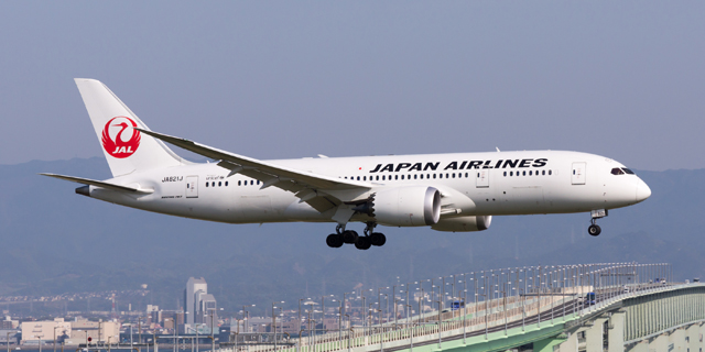 Japan Airlines. Photo: Wikipedia