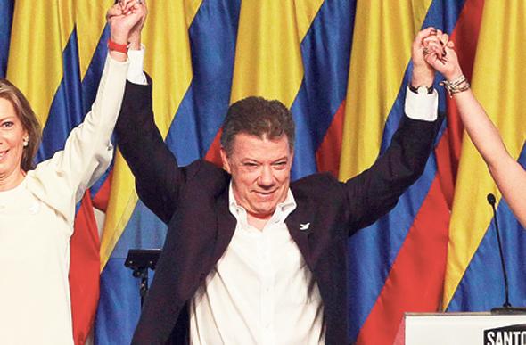 קולומביה - הנשיא חואן מנואל סנטוס: מחשבי המורדים הותקפו כדי לסכל את שיחות השלום