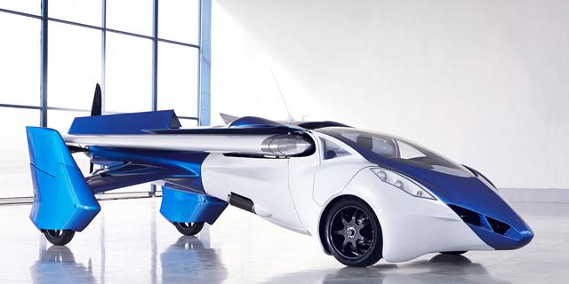 המכונית המעופפת של Aeromobil, צילום: aeromobil