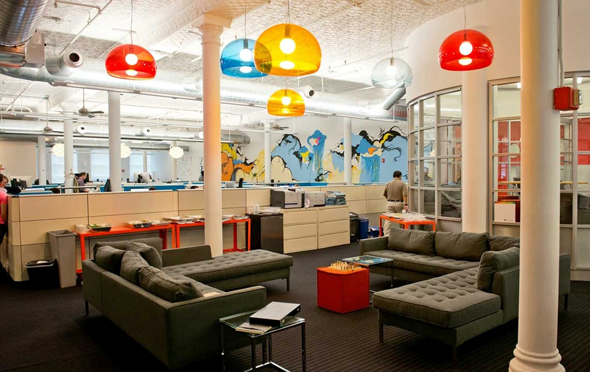 Outbrain's offices in New York. Photo: Outbrain