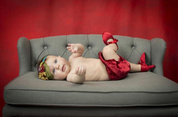 הלהיט החדש - נעלי עקב לתינוקות