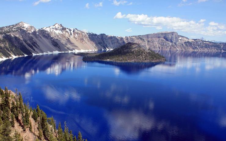 אגם קרייטר, אורגון, צילום: גטי אימג