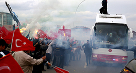 Demostrations in Turkey. Photo: Reuters