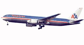 מטוס בואינג 767 שמופעל על ידי אמריקן איירליינס, צילום: בלומברג