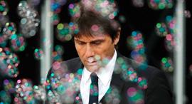 אנטוניו קונטה בועות מאמן צ'לסי, צילום: איי אף פי
