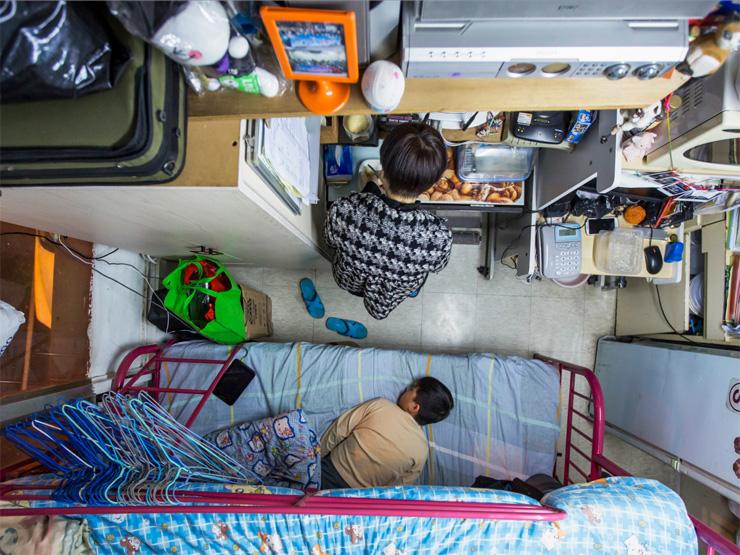 דירה זעירה בהונג קונג