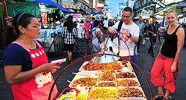 בנגקוק דוכן אוכל רחוב, צילום: שאטרסטוק