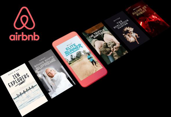קטלוג החוויות של airbnb