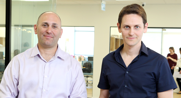 Left to right: MeMed's founders Kfir Oved and Eran Eden. Photo: Elad Gershgoren