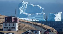 קרחון קנדה ניו פאונדלנד, צילום: רויטרס