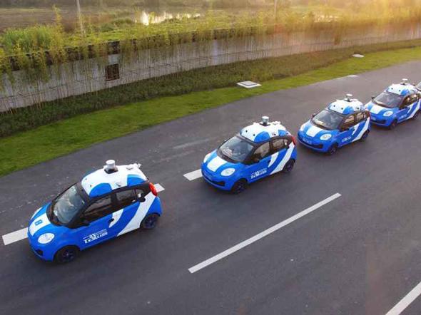 מכוניות אוטונומיות של באידו, צילום: מאתר טקראנצ