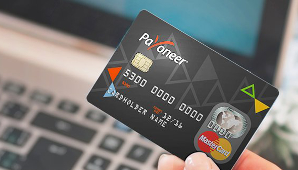 Payoneer's Credit Card. Photo: Payoneer