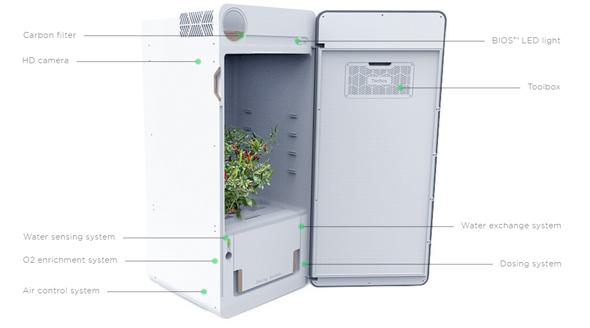 מערכת הגידול של Leaf