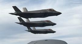 """מטוס F-35 , צילום: דו""""צ"""