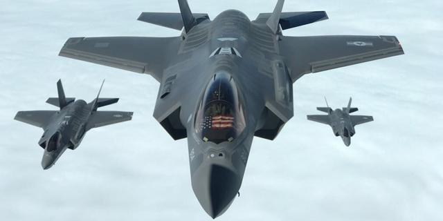 """ה-F-35 של חיל האוויר, צילום: דו""""צ"""