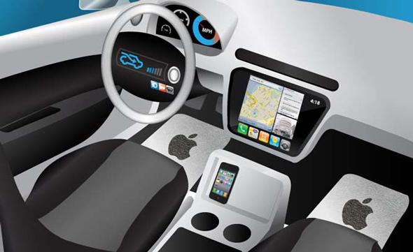 מכונית אפל, צילום: HybridCars