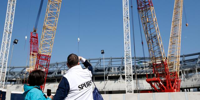 ה-NFL מסייעת לטוטנהאם לבנות את אצטדיונה החדש