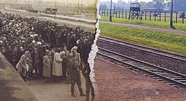 אושוויץ שואה זיכרון יום השואה