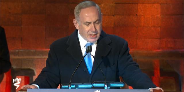"""נתניהו ב""""יד ושם"""": """"גם היום - העולם אדיש לשנאת היהודים"""""""