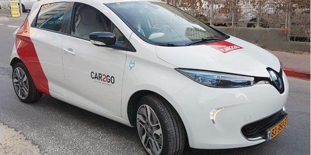 מיזם CAR2GO מדליק נורית אזהרה בלוח המחוונים של שגריר