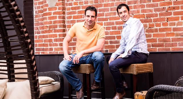 Twistlock's co-founders Dima Stopel (left) and Ben Bernstein. Photo: Michael J. Tucker