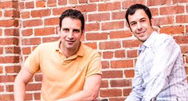 Twistlock's co-founders Dima Stopel (left) and Ben Bernstein. Photo: PR