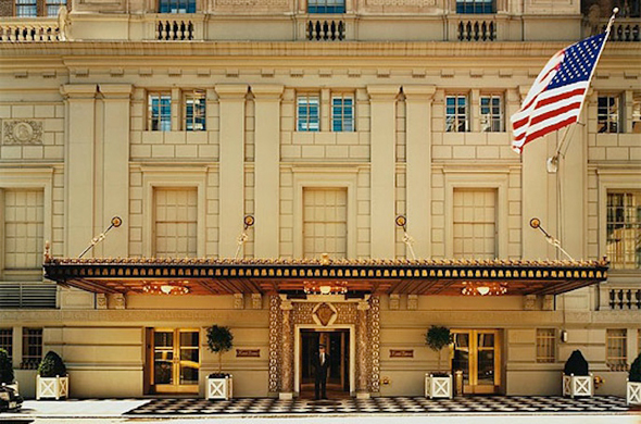 """מלון פייר, השדרה החמישית ניו יורק. """"כמו להניח מדחן בבית מלון"""", צילום: tajhotels"""