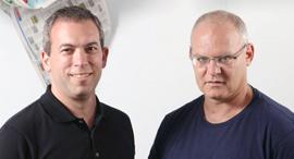 מימין אורי להב ו ירון גלאי , צילום: עמית שעל
