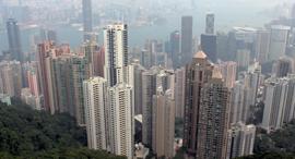 הונג קונג גורדי שחקים בניינים סקיי לין, צילום: ערן גרנות