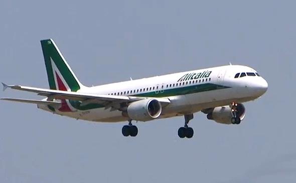 מטוס אלאיטליה, צילום: רויטרס
