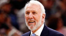 גרג פופוביץ' מאמן ה NBA , צילום: cbssports