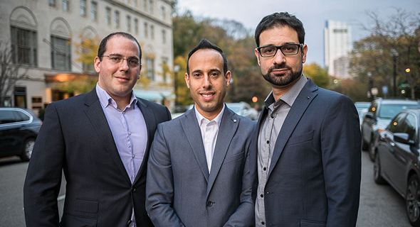 Cybereason co-founders Yonatan Striem Amit, Lior Div (center) and Yossi Naar. Photo: PR