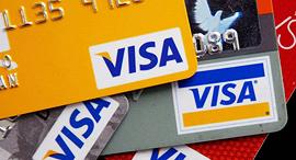ויזה כרטיס כרטיסי אשראי, צילום: גטי אימגס
