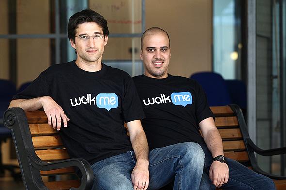 מימין: דן עדיקא ואייל כהן, ממייסדי וולקמי, צילום: אוראל כהן