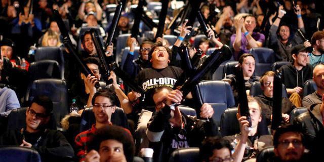 "קהל נלהב באירוע גיימינג בארה""ב, צילום: רויטרס"