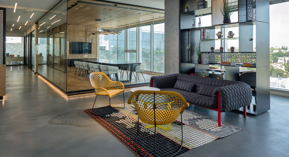 A Regus coworking space (illustration). Photo: Sharon Tzarfati
