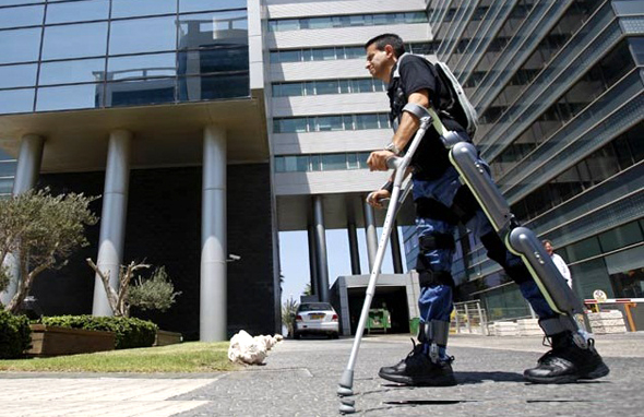ReWalk's robotic walking aid. Photo: Reuters