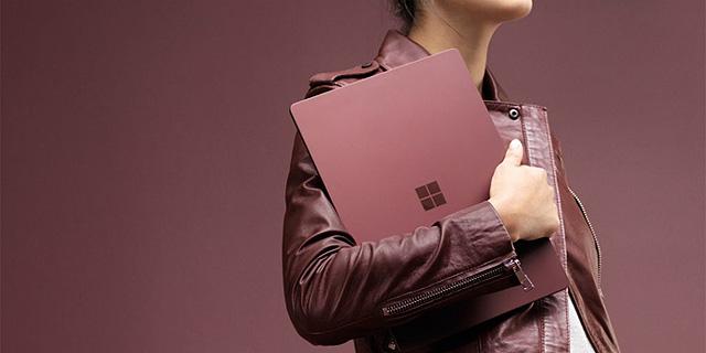 מיקרוסופט חשפה את ה-Surface Laptop, מחשב שיורה לכל הכיוונים