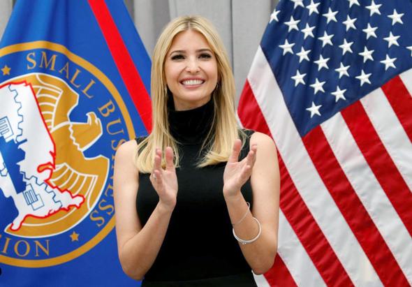 "איוונקה טראמפ בת של נשיא ארה""ב , צילום: רויטרס"