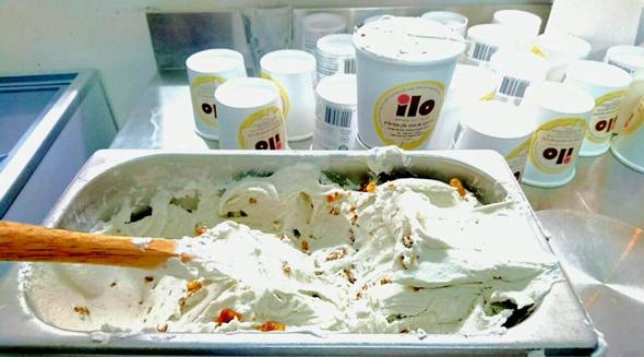 גלידת אילו, התחילו ממכונה ביתית ונעזרו בקרן נתן להקמת מפעל