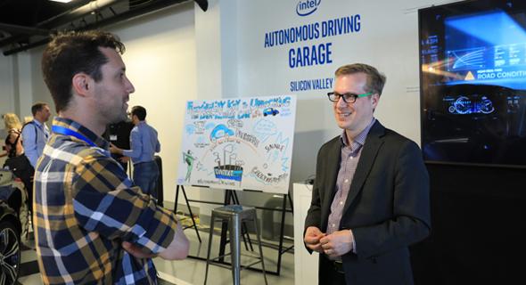 ג'ק וויסט מהנדס נהיגה אוטונומית אינטל, צילום: אינטל