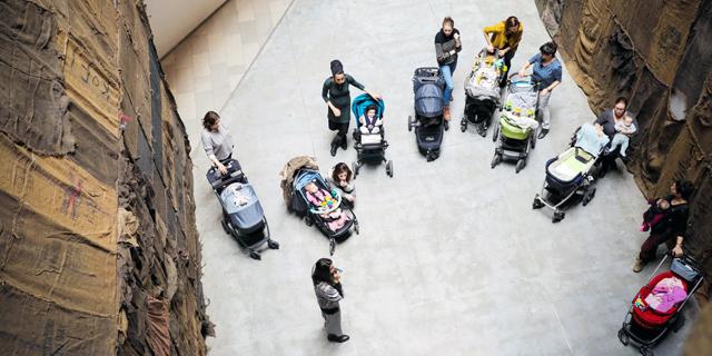 העגלה נוסעת: אינפלציה בפעילויות לחופשת לידה