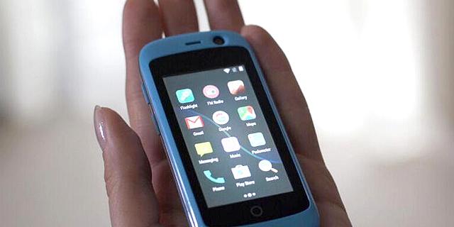 Jelly: סמארטפון ננסי, לאנשים שנמאס להם מטלפונים מגודלים
