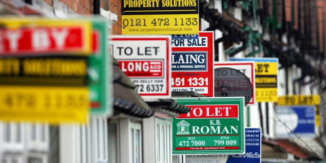בתים למכירה בלונדון , צילום: גטי אימג